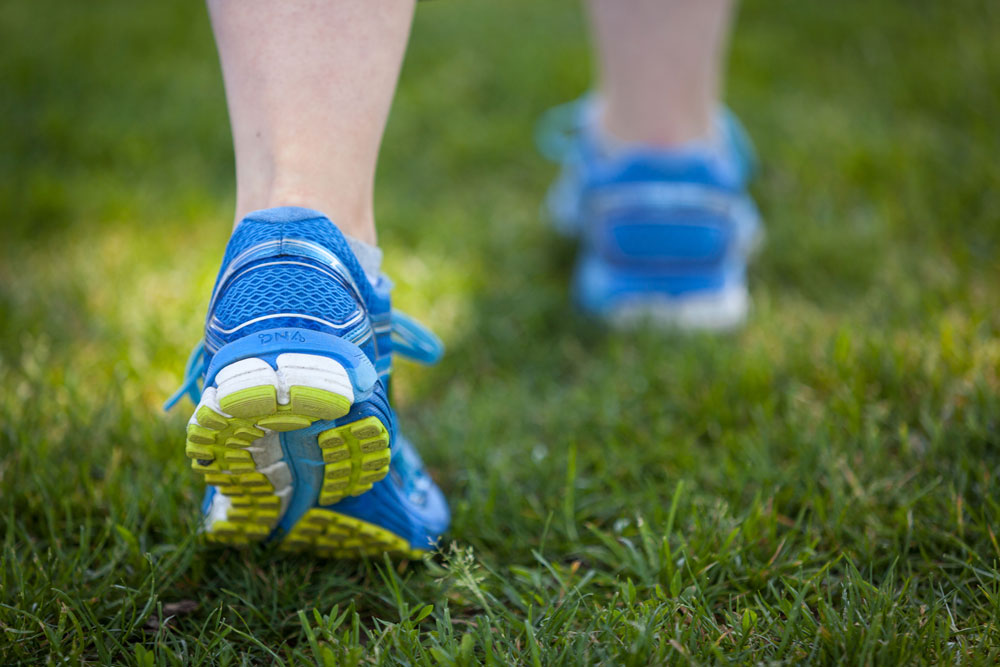 Feet Walking
